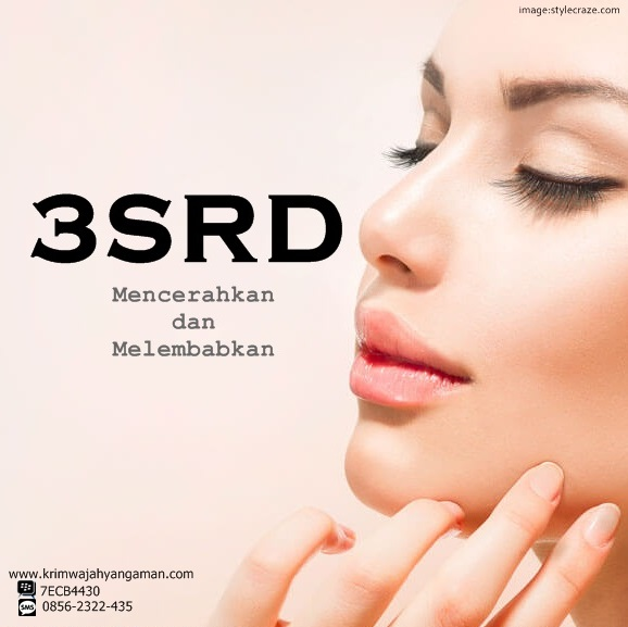Skin Care Perawatan Wajah Cream Krim 3SRD Beauty Series