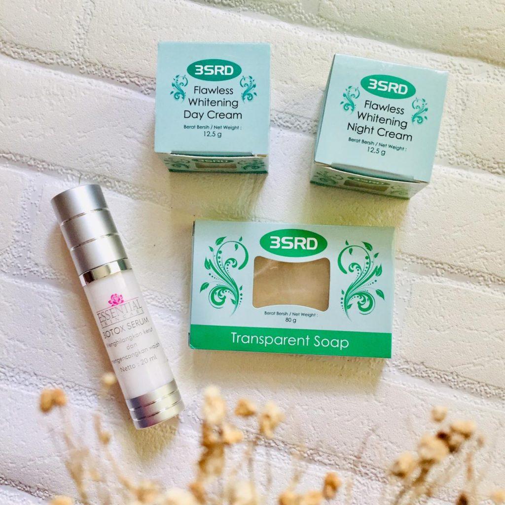 paket cream perawatan wajah usia 40 tahun ke atas anti aging 3srd